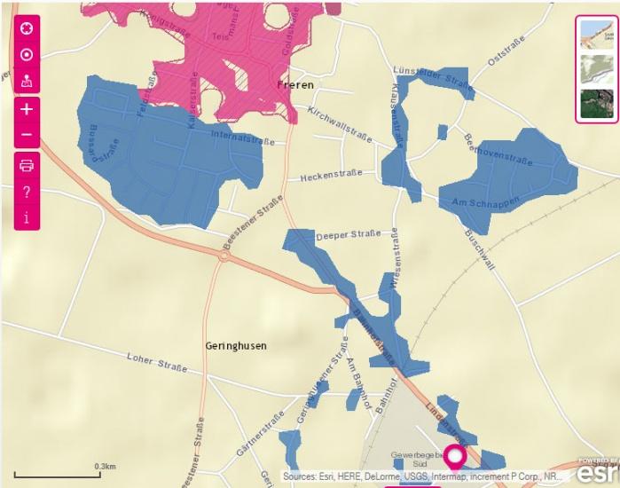 Telekom Glasfaserausbau Karte.Samtgemeinde Freren Aktuell Breitband Leben Wohnen