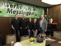 Gewerbeverein Messingen tagte