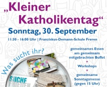 Kleiner Katholikentag am 30. September 2018