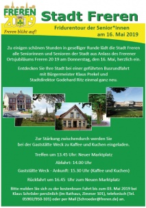 Fridurentour der Senior*innen am 16. Mai 2019