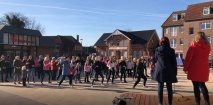 One Billion Rising-Flashmob in Freren