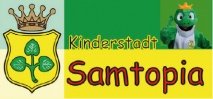 Traditionelles Stadtfest in der Kinderstadt Samtopia